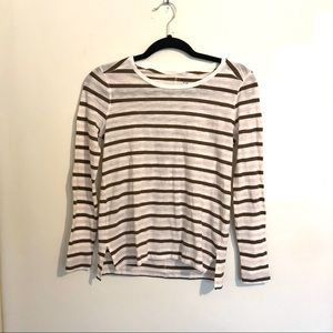 Madewell striped long sleeve